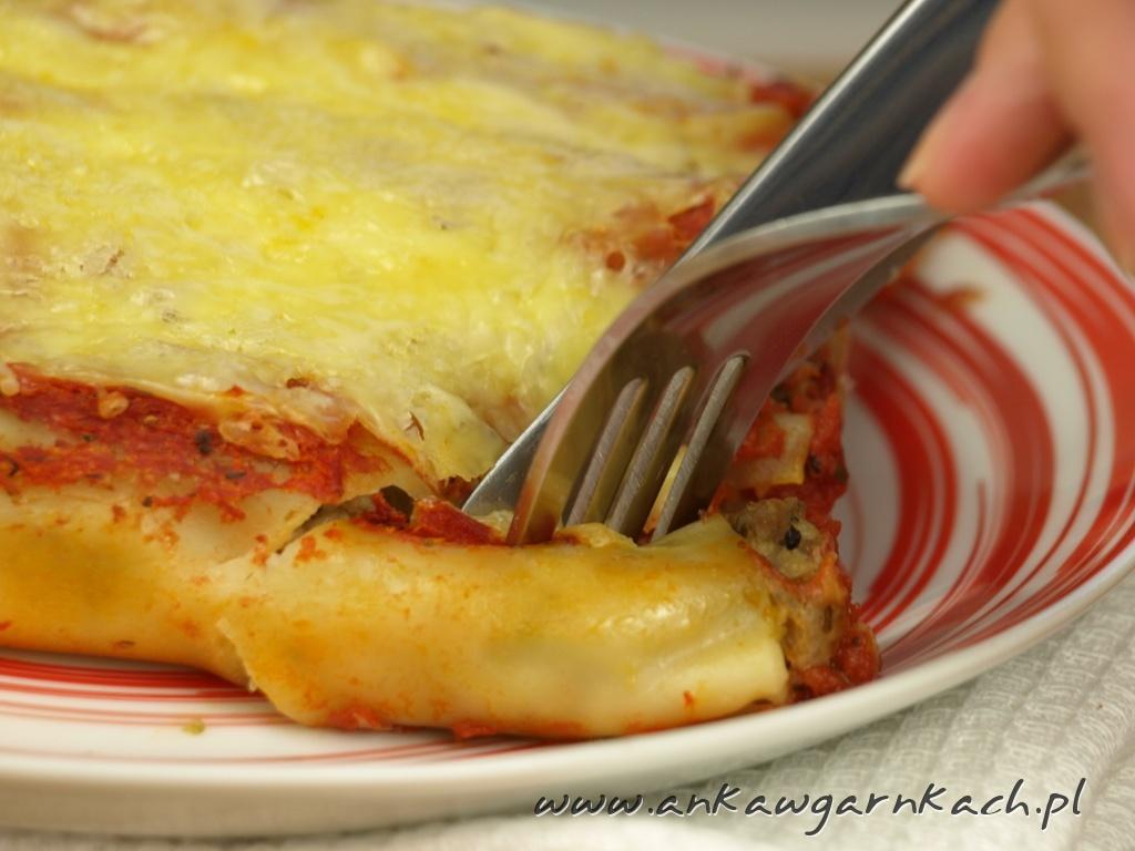 Cannelloni Z Miesem Mielonym W Sosie Pomidorowym Anka W Garnkach