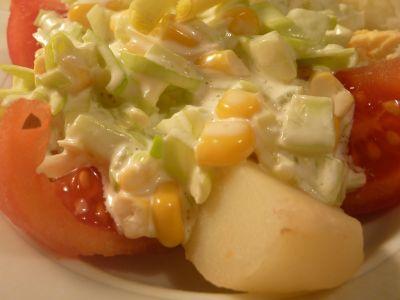 Sałatka francuska z ziemniakami
