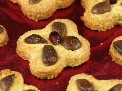 Ciasteczka pieguski z mąki razowej