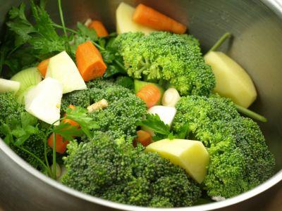 Warzywa na krem brokułowy