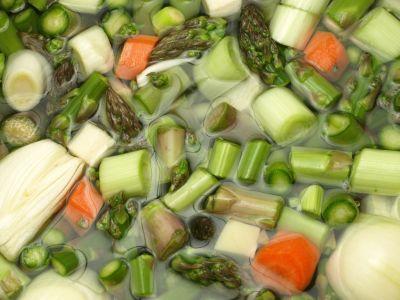 Jeszcze surowe warzywa