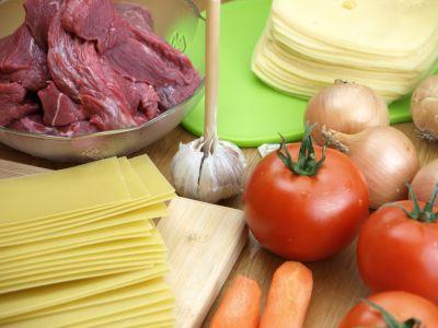 Produkty na lasagne