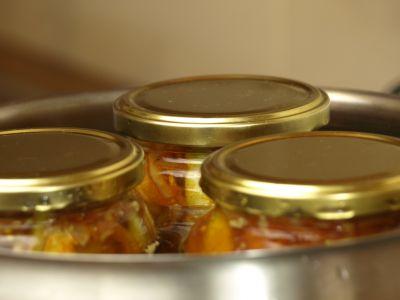 Pasteryzacja ogórków w curry