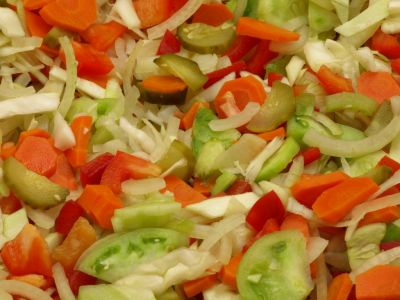 Sałatka siedem warzyw