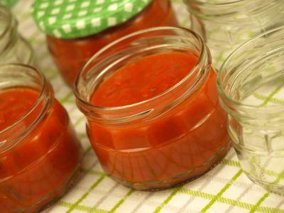 Salsa pomidorowo paprykowa