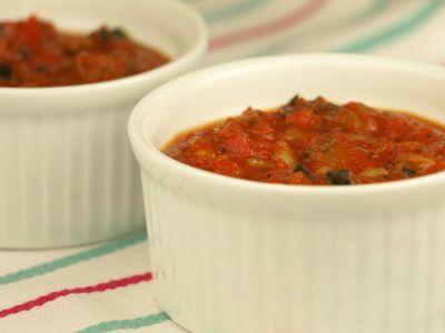 Salsa pomidorowo-cukiniowa