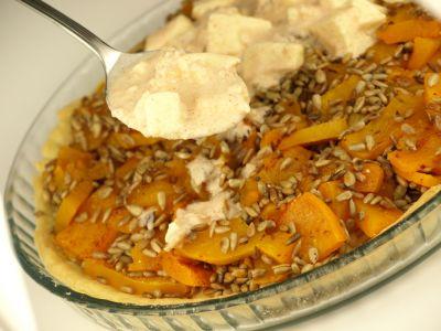 Tarta dyniowa z mozzarellą