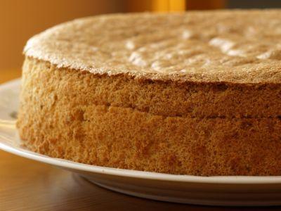 Biszkopt na tort czekoladowo kawowy