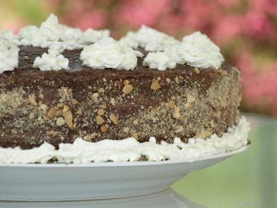 Tort czekoladowo kawowy