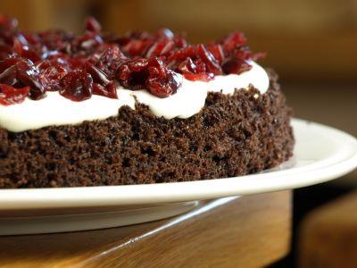 Tort szwarcwaldzki - pierwsza warstwa