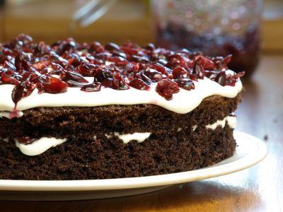 Tort szwarcwaldzki - druga warstwa