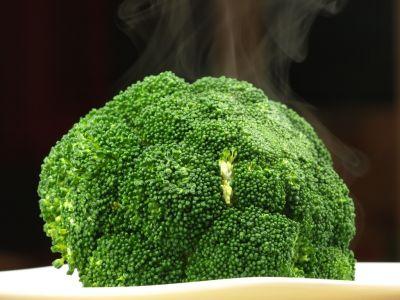 Ugotowany brokuł
